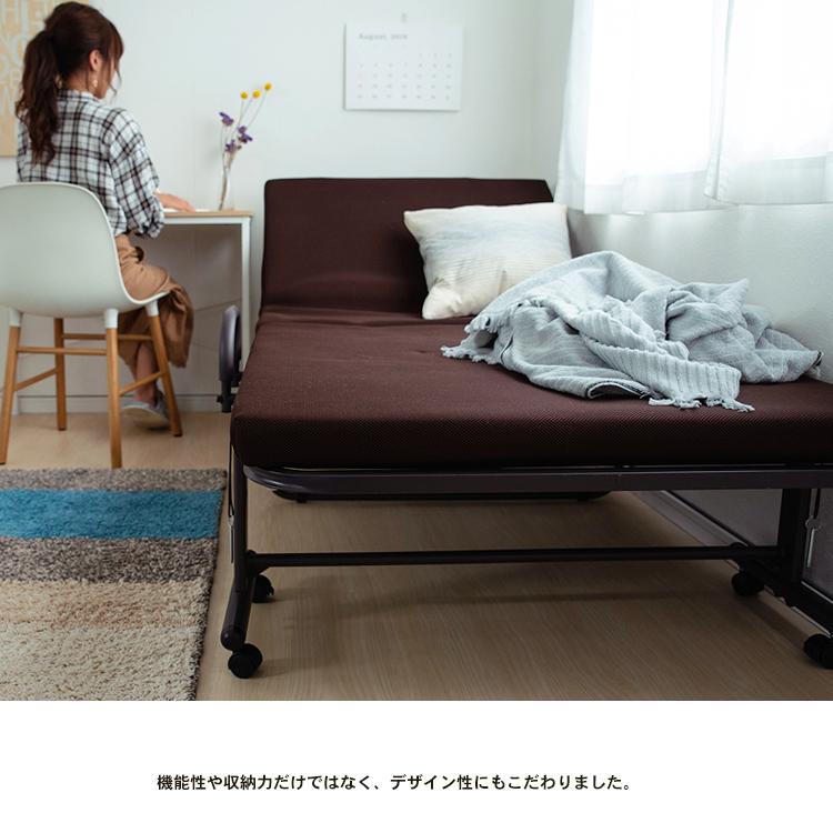 コーナン オリジナル 折り畳み低反発ベッド  KR18−0066