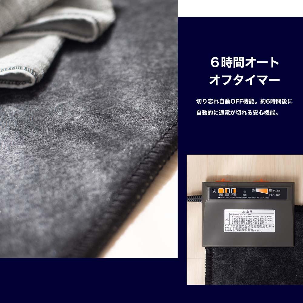コーナン オリジナル PortTech 省エネホットカーペット2畳 PUF−E203