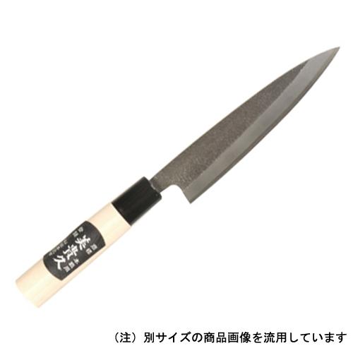 美貴久 万能包丁 柄付 槌目 一丁箱 30−150A 150mm