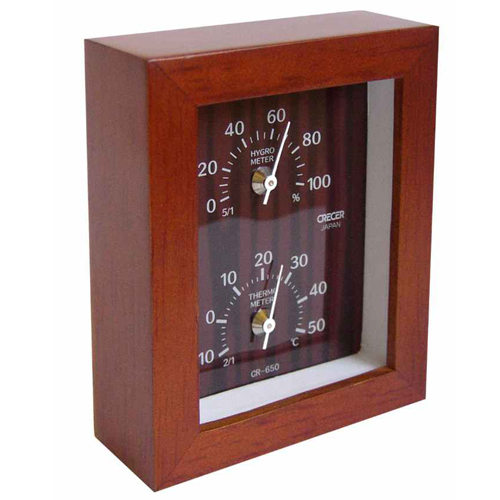 CRECER 温度計・湿度計 Woody CR−650C