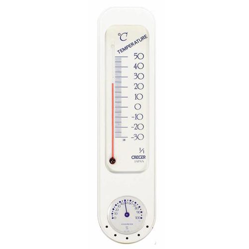 CRECER 温度計・湿度計 CP−300W
