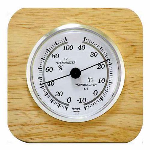 CRECER 天然木温湿度計 CR−620