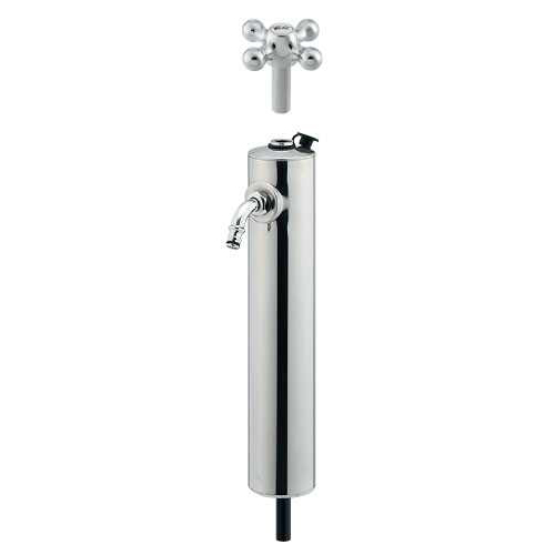 カクダイ 共用ステンレス水栓柱ショート 624-082