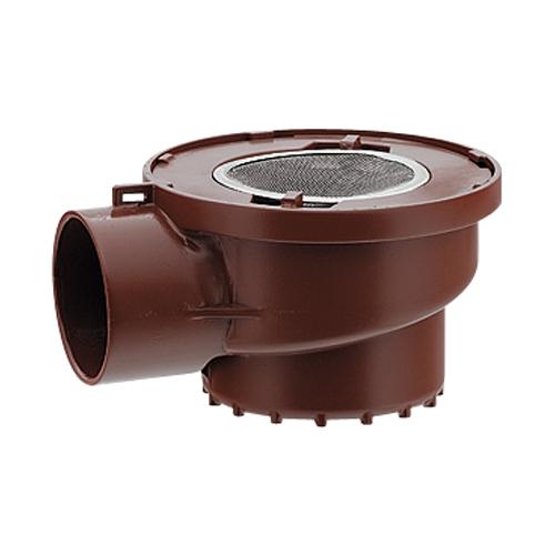 カクダイ 排水用耐熱トラップ(薄型) 421-701-50