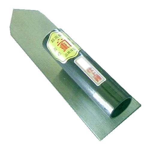 カネシゲ印 油焼 仕上鏝 ニブオサエ 225mm
