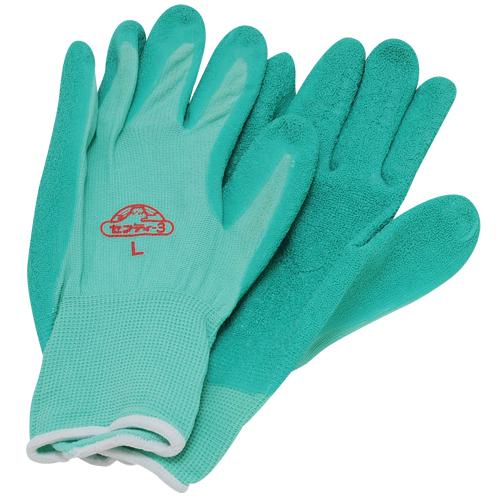 セフティ−3 園芸用手袋 ハード用 L