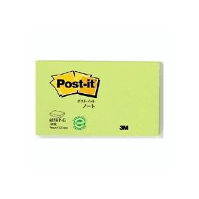 ポスト・イットノート再生紙シリーズ グリーン 655RP−G 330945