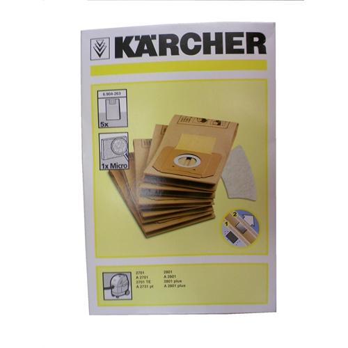ケルヒャー(Karcher) 紙パック5枚組 A-2701用 6.904-263