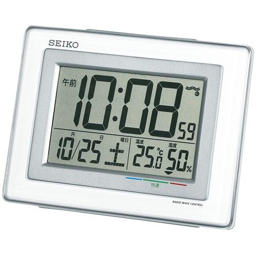 電波目覚し時計SQ686W