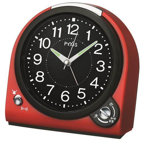 連続秒針目覚し時計NQ705R