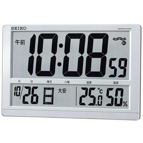 電波掛置兼用時計SQ433S