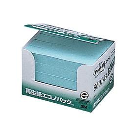 ポスト・イット再生紙エコノパックブルー 5601−B 335121