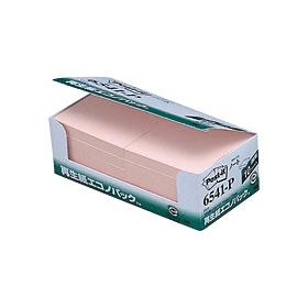 ポスト・イット再生紙エコノパックピンク 6541−P 335124