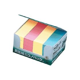 ポスト・イット再生紙エコノパックグラデーション3色混5001 333548