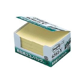 ポスト・イット再生紙エコノパック 6561−Y 10冊入 333602