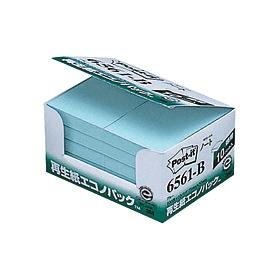 ポスト・イット再生紙エコノパックブルー 6561−B 335128
