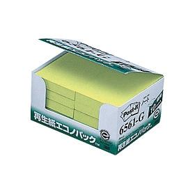ポスト・イット再生紙エコノパックグリーン 6561−G 335129