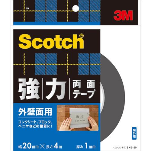 3M スコッチ 強力両面テープ 外壁面用 SKB−20