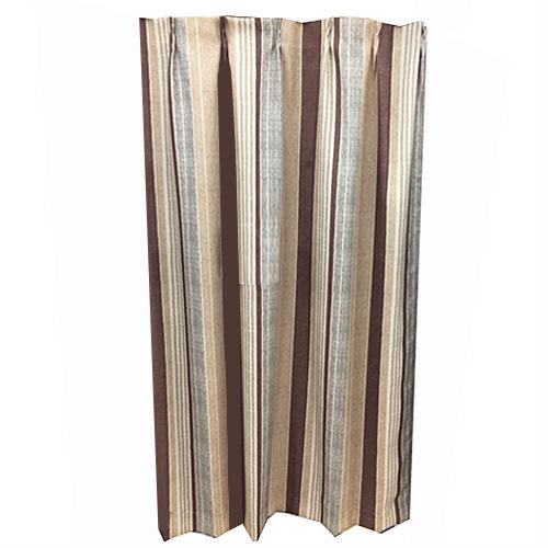 コーナン オリジナル カーテンレイス ブラウン 2枚組 約幅100×丈200cm