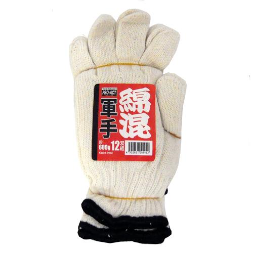 コーナン オリジナル 綿混軍手 12双組 KW04−9992