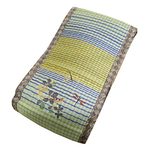 コーナン オリジナル い草低反発フィットクッション 熊野 ベージュ 約38×20cm