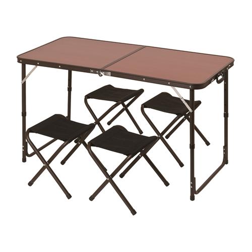 コーナン オリジナル アルミテーブルセット SP23TB003