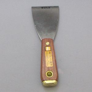コーナン オリジナル 木柄スクレーパー 曲斜刃75mm