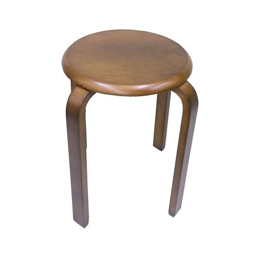 コーナン オリジナル 木製スツールBR ブラウン KOF18−9287