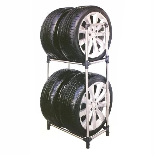 コーナン オリジナル タイヤラックM 普通自動車用 KG07−7229 ※タイヤ、ホイールは付いておりません。