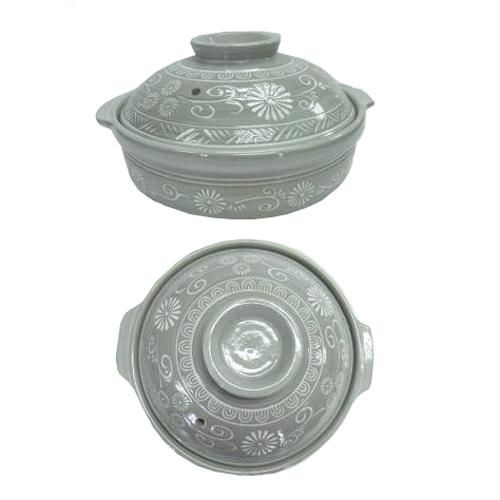 ◇ コーナン オリジナル 土鍋 三島 11号 KHM05−0397 直火専用