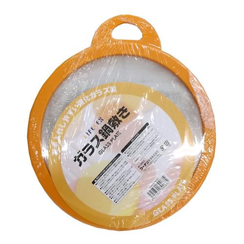 コーナン オリジナル ガラス鍋敷き オレンジ KHM05−9635
