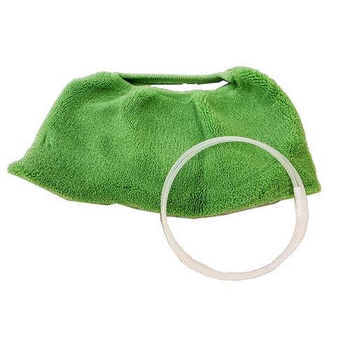 コーナン オリジナル 厚織便座カバー O型 グリーン TO21−1727
