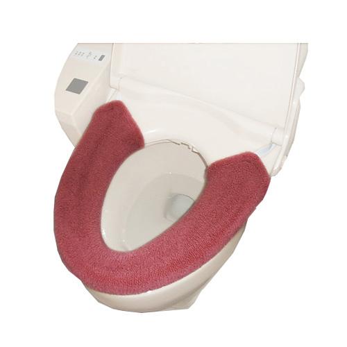 コーナン オリジナル 厚織便座カバー W型 ピンク TO21−1789