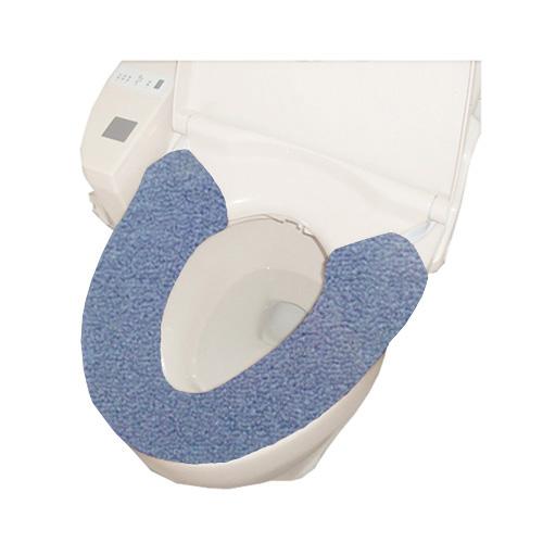 コーナン オリジナル 厚織便座カバー W型 ブルー TO21−1796