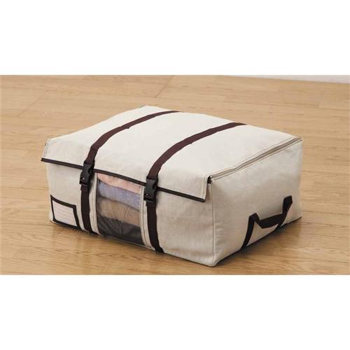 コーナン オリジナル 竹炭衣類収納ケース L 72×52×30cm