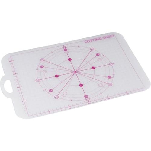 コーナン オリジナル メジャー付シートまな板 ピンク KHM05−2716