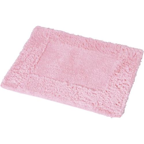 コーナン オリジナル ふわふわバスマット ピンク 約45×60cm