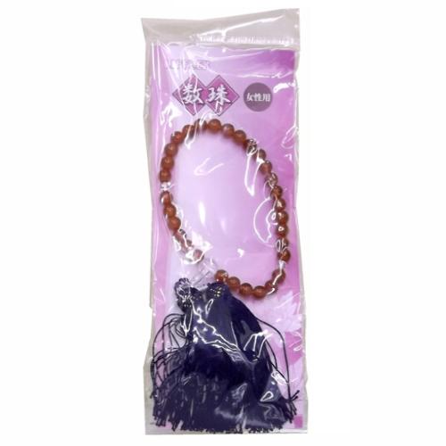 コーナン オリジナル 数珠 女性用 LOT−2021