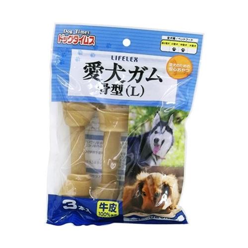 コーナン オリジナル ドッグタイムス 愛犬ガム骨型L 3本入 KFY12−3863
