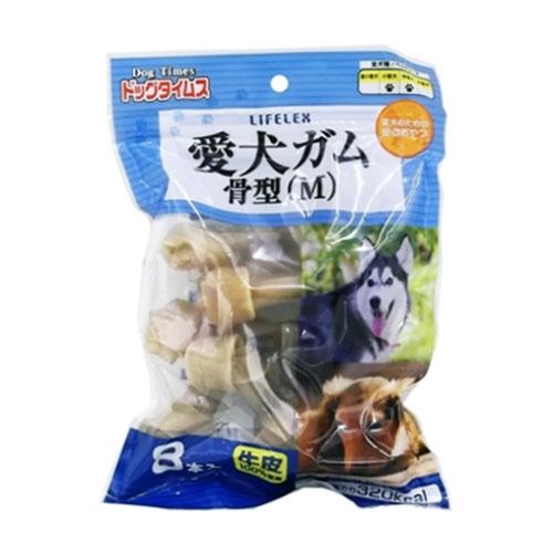 コーナン オリジナル ドッグタイムス 愛犬ガム骨型M 8本入 KFY12−3870