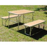 コーナン オリジナル アルミテーブルチェアセット KG23−2008