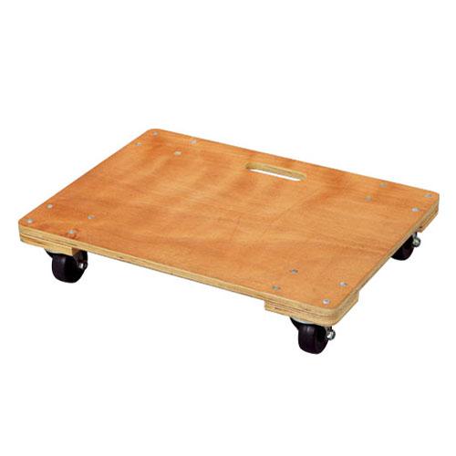 コーナン オリジナル 木製平台車 中 約60cm×45cm