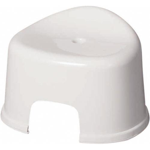 コーナン オリジナル 風呂いす R型クリアホワイト KOK21−8416