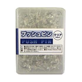 コーナン オリジナル プッシュピン クリア0031