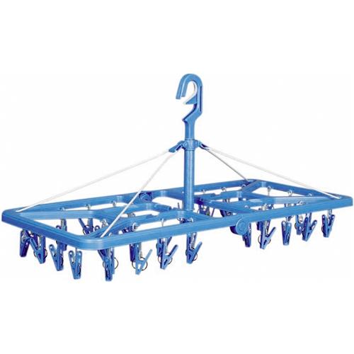 コーナン オリジナル ジャンボ角ハンガー KTH21−6081 ブルー