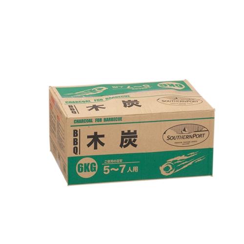 コーナン オリジナル BBQ用木炭6Kg KG23−9327