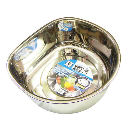 コーナン オリジナル D型洗い桶足高タイプ KHD05−0668