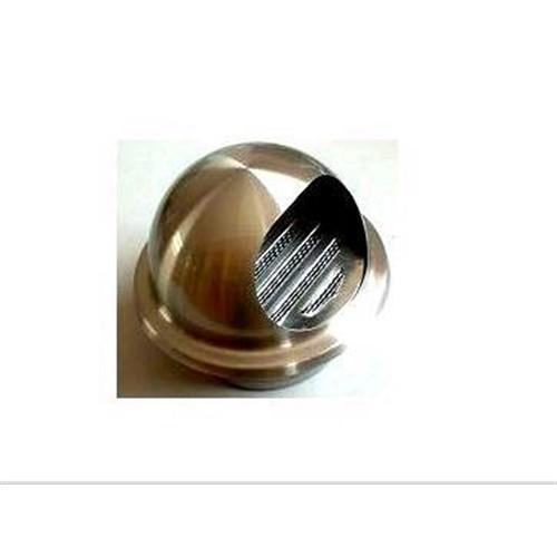 【 めちゃ早便 】◇ コーナン オリジナル ステンレス丸型フード付ガラリ 直径150mm