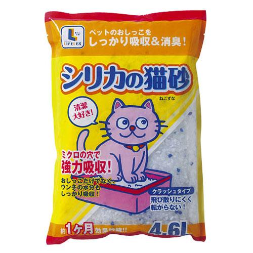 コーナン オリジナル シリカの猫砂 4.6L KJ12−3194