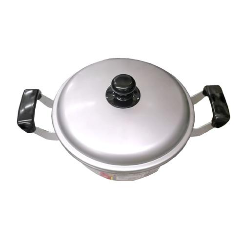 コーナン オリジナル アルミ浅型鍋 24cm KHD05−8408